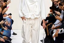 Fashion Menswear / Images of garments concentrating on cut and silhouette for womenswear fashion.