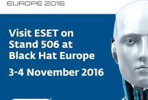 ESET Events / Events ESET attend and run throughout the year