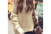 Pullover beige / Schöner warmer Pullover für die kalte Jahreszeit