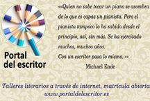 Citas literarias / citas de escritores, citas de escritoras, literatura