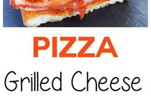 Pizza ,,, Grilled Cheese