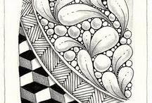 Zentangles and Doodles / by Stephanie HicksNeunert