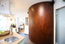 Dekor und Design / Kunst für den Wohnraum, Einzigartige Oberflächen, Unikate für ihr Zuhause, individuelle Gestaltungen die nicht reproduzierbar sind