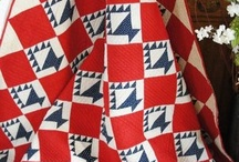 Red, White & Blue All Over! / Patriotic quilts that inspire me! / by Bonnie K Hunter