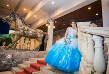 Quinceanera Light Blue Color Ideas / by Mary's Bridal