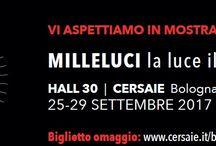 Milleluci - Cersaie 2017 / Mostra Milleluci - Cersaie 2017
