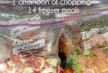 Once a month cooking / Freezer friendly meals
