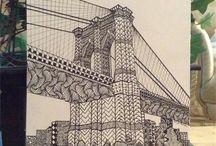 Zentangle bridge