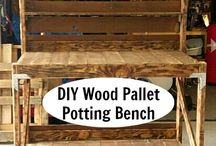 Pallet projects / by Becky Huling