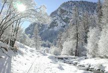 Paysages Queyras Hiver / Les paysages d'hiver du Queyras, sous la neige