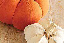 Halloween och höst / Mat, pynt mm