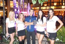 VezaGirls at The Grove / The Veza Girls are all around Los Angeles promoting Veza and the partnered Charities.