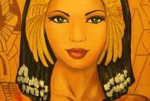 Egypt art / Egyptian art
