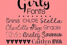 Logos/Fonts