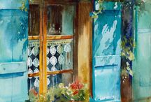 окна улицы
