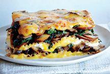 Food - vegetable lasagne