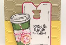 Stampin up Perfect Blend / Examples from the stampset from Stampin up