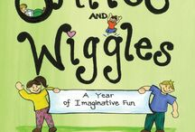 Smiles and Wiggles / This is the official board for my interactive poetry book, SMILES AND WIGGLES: A YEAR OF IMAGINATIVE FUN. It's a book for teachers and parents, anyone who wants to encourage children to imagine and learn.