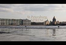 Spb in Spring / Spring in Saint Petersburg, Russia.
