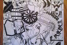 Inky's Drawings