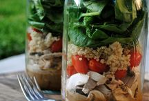Lunches and Snacks / Healthy lunches and snacks for on the go
