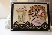 Cottage  Cutz Cards  / Beautiful Cards using Cottage  Cutz Dies