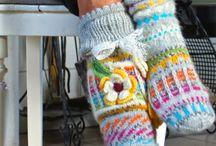 Love the knee socks