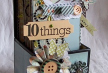 Boxes altered / by Marsha Fromm