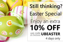 Easter Special / Enjoy an extra 10% OFF use code UBEASTER at checkout 4 days only