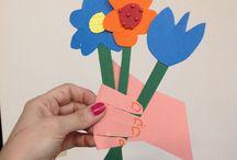 Projetos de Dia das Mães / Presentes e atividades feitas para o dia das mães. Todas atividades você encontra no site www.materniarte.com.br