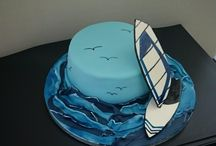 Cakes - sea, beach