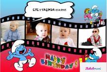 ÇOKLU RESİM ÖZEL HATIRA-DOĞUM GÜNÜ MAGNETLERİ / Birden fazla resim alabilen doğum günü özel gün hatıra magnetleri