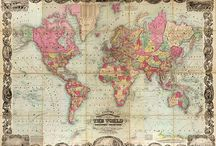 Old Map / Old Map Painting | Artisan Malaysia | Check out more artwork at www.artisanmalaysia.com l or contact us at 010-9838184