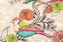 Beautiful Birds / by Lisa Claudia Briggs