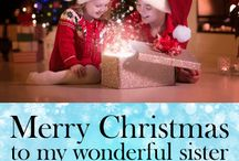 Christmas Cards for Sister