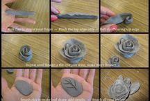 keramika ruža betón