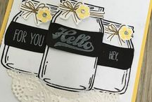 Jar of Love, Stampin' Up! / Cards and projects using Stampin' Up! Jar of Love