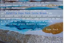 Falda Pepa Poch / My Faldas y la artista internacional Pepa Poch han colaborado para crear la falda más exclusiva de la colección primavera/verano inspirada en la Costa Brava. La Falda Pepa Poch está pintada a mano por la artista catalana de prestigio mundial.