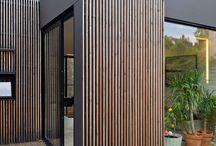 Houten gevelbekleding | Wooden frame house