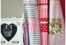 Sweet kitchen apron  / Little sew things made with love by KOCIKOWO