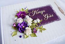 Ślub - księgi gości/Wedding-guestbooks