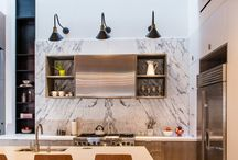 Kitchen Envy / Kitchens we have serious envy over. Everything from scandi, modern, marble and more.