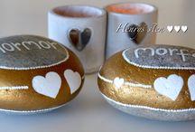 My handmade  stones / My handmade stones