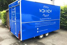 Trailer Wrapping / Brand your trailer and transform the look using a vinyl trailer wrap. The perfect branding option for food trucks looking to draw in new customers. Click a pin and follow the link today for your free trailer wrap quote.