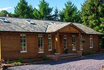 Log Cabin and Lodges full with luxury / www.bestofsuffolk.co.uk