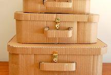 maletas de carton