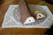 Driehoek kaas tert