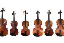 Violins and Fiddles / Acoustic violins, fiddles and related musical instruments played with a bow