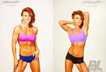 Incredible Female Physiques / Amazing motivational and inspirational female physiques