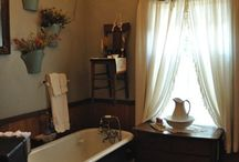 bathrooms / by Crabapple Cottage